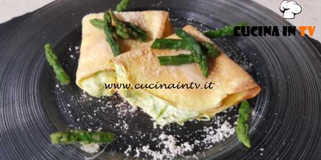 Cotto e mangiato - Crepes con asparagi ricetta Tessa Gelisio