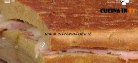 La Prova del Cuoco - Focaccia Enkir con prosciutto cotto e toma piemontese ricetta Gabriele Bonci