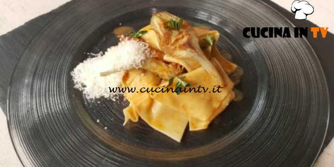 Cotto e mangiato - Frappe di polenta con coniglio ricetta Tessa Gelisio