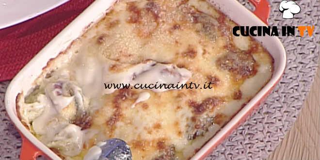 La Prova del Cuoco - Gnocchi alla parigina con radicchio tardivo e groviera ricetta Gian Piero Fava