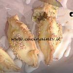 La Prova del Cuoco - Mezzelune di pasta brisèe con cime di rapa e salsiccia ricetta Gian Piero Fava