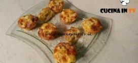 Cotto e mangiato - Muffin con frittata di patate e scamorza ricetta Tessa Gelisio