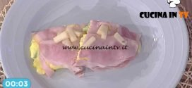 La Prova del Cuoco - Omelette agli asparagi con formaggio fondente ricetta Ivano Ricchebono