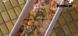 La Prova del Cuoco - Paccheri ripieni di ricotta basilico e melanzane ricetta Natale Giunta