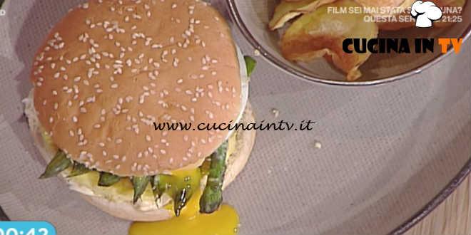 Prova del Cuoco | Panino con uova e asparagi ricetta Fava