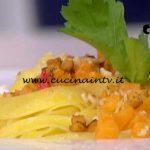 Detto Fatto - Pasta e zucca ricetta Ilario Vinciguerra