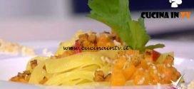 Detto Fatto | Pasta e zucca ricetta Ilario Vinciguerra