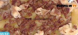 La Prova del Cuoco - Pasticcio di maccheroni e salsiccia ricetta Cristian Bertol