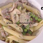 La Prova del Cuoco - Pennette con funghi salsiccia e piselli ricetta Francesca Marsetti