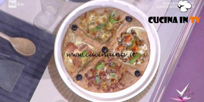 Detto Fatto - Pizza 4 stagioni ricetta Gianfranco Iervolino