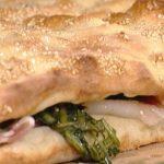 La Prova del Cuoco - Pizza ripiena di cicorie e crudo ricetta Gabriele Bonci