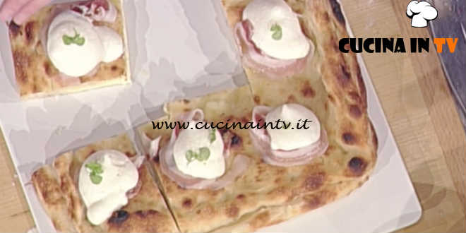 Prova del Cuoco | Pizza imbottita fantasia di fior di latte ricetta Sorbillo