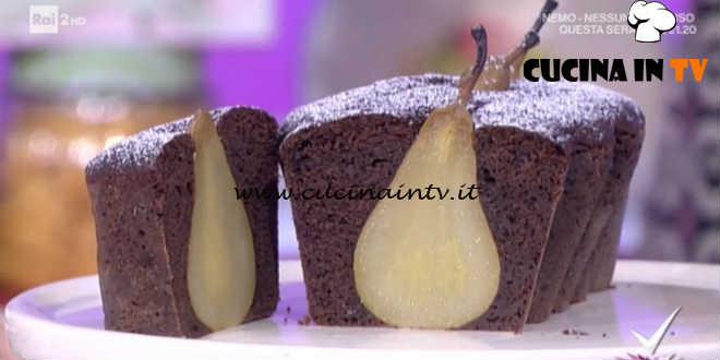 Detto Fatto - Plumcake cioccolato e pere con sorpresa ricetta Franco Aliberti