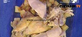 La Prova del Cuoco - Pollo in crosta di sale al forno ricetta Sergio Barzetti