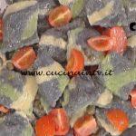 La Prova del Cuoco - Ravioli neri con patate tonno e burro ai capperi ricetta Alessandra Spisni