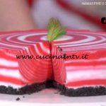 Detto Fatto - Red velvet cheesecake zebrata ricetta Francesco Saccomandi