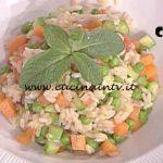 La Prova del Cuoco - Riso al salto con concassè di verdure ricetta Cristian Bertol