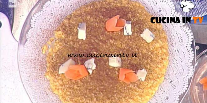 Prova del Cuoco | Risotto con estratto di carote e toma blu piemontese ricetta Barzetti