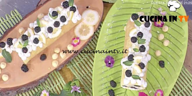 La Prova del Cuoco - Rotolo di primavera ricetta Natalia Cattelani