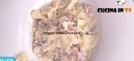 La Prova del Cuoco - Strichetti con prosciutto cotto champignons e crema al formaggio ricetta Riccardo Facchini