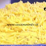 La Prova del Cuoco - Tagliolini al limone e curcuma ricetta Anna Moroni