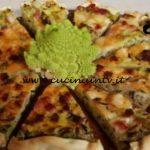 Cotto e mangiato - Torta salata broccoli prosciutto e provolone ricetta Tessa Gelisio