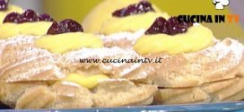 La Prova del Cuoco - Zeppole di San Giuseppe ricetta Sal De Riso