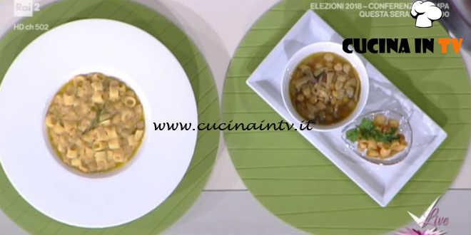 Detto Fatto | Zuppa di ceci e pasta ricetta Ilario Vinciguerra