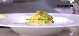 Detto Fatto - Carbonara agli asparagi ricetta Tommaso Arrigoni