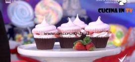 Detto Fatto - Cupcake di primavera alle fragole ricetta Francesco Saccomandi