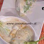 La Prova del Cuoco - Fiori di zucca ripieni di ricotta spinaci e besciamella ricetta Cesare Marretti
