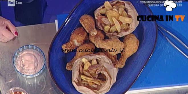 Prova del Cuoco | Fuselli di pollo fritti con patatine ricetta Barzetti