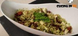 Cotto e mangiato - Insalata d'orzo al pesto ricetta Tessa Gelisio