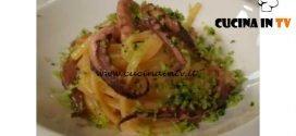 Cotto e mangiato - Linguine con calamari alla mollica di pane e rucola ricetta Tessa Gelisio