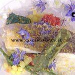 La Prova del Cuoco - Merluzzo con asparagina e borragine ricetta Gianfranco Pascucci