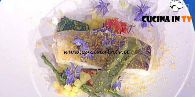 Prova del Cuoco | Merluzzo con asparagina e borragine ricetta Pascucci