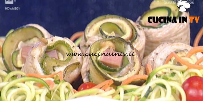 La Prova del Cuoco - Mini rollè di tacchino ricetta Luisanna Messeri