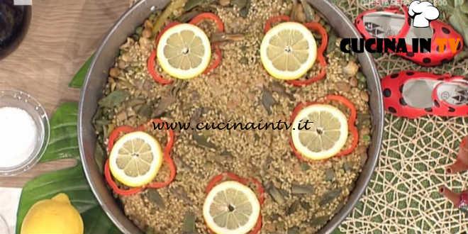 La Prova del Cuoco - Paella di verdure ricetta David Povedilla