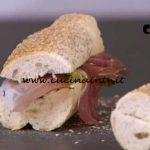 Detto Fatto - Panino Gennargentu con zucchine e speck ricetta Giorgio Borrelli