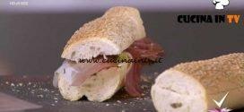 Detto Fatto | Panino Gennargentu con zucchine e speck ricetta Giorgio Borrelli