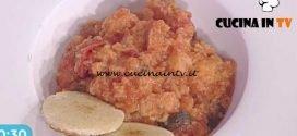 La Prova del Cuoco - Pappa al pomodoro classica ricetta Ambra Romani