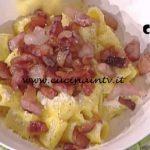 La Prova del Cuoco - Mezze maniche alla carbonara ricetta Marco Bottega