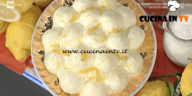 Prova del Cuoco | Profitterol al limone d'Amalfi ricetta De Riso