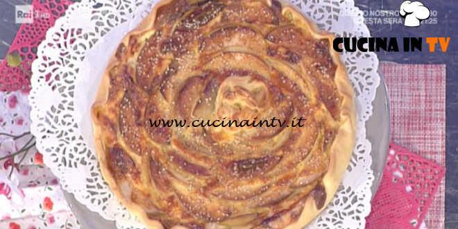 La Prova del Cuoco - Quiche con indivia e mela verde ricetta Anna Moroni