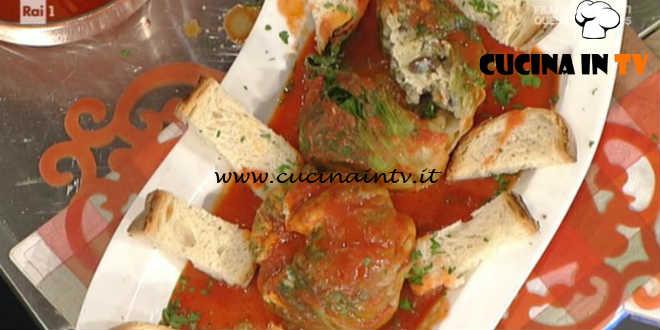 La Prova del Cuoco - Scarole imbottite alla cilentana ricetta Anna Moroni
