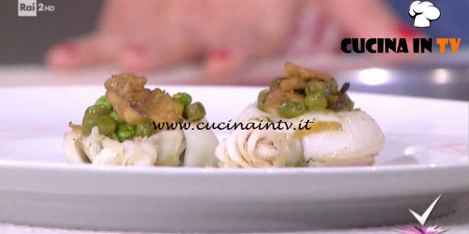 Detto Fatto - Seppie e piselli all'arrabbiata ricetta Stefano Ciotti