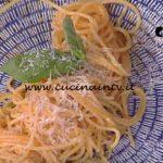 La Prova del Cuoco - Spaghetti aglio olio e peperoncino con pomodorini e pecorino ricetta Ivano Ricchebono