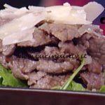 La Prova del Cuoco - Straccetti di manzo con rucola e aceto balsamico ricetta Mauro Improta