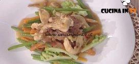 La Prova del Cuoco - Straccetti di pollo con verdurine al burro ricetta Cristian Bertol
