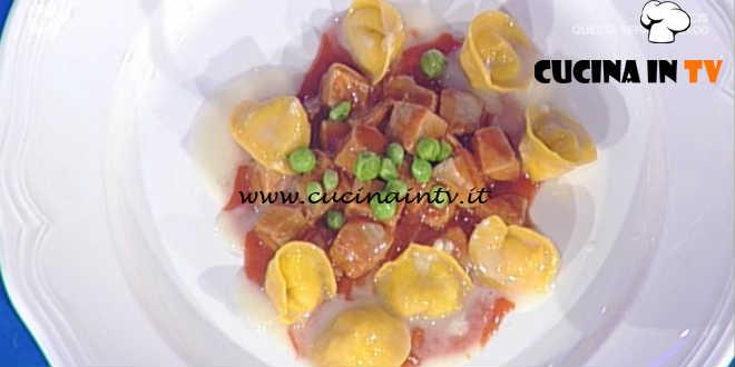Prova del Cuoco | Stracotto di tonno e piselli con tortelli al pecorino ricetta Pascucci